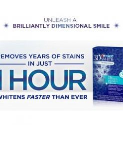 crest 1 hour express whitening strips
