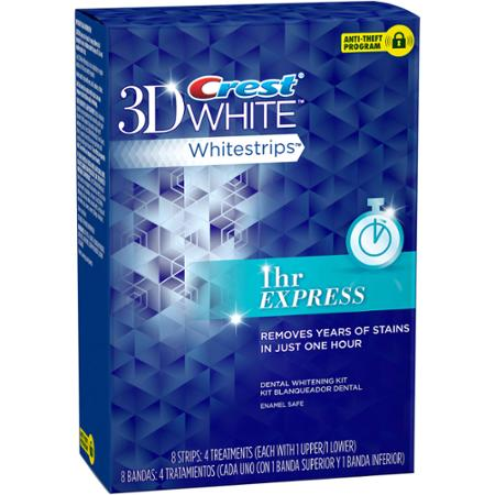 crest 1 hour express whitestrips