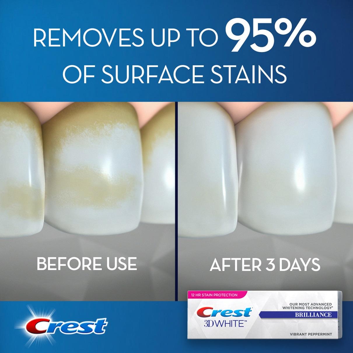 crest brilliance white toothpaste
