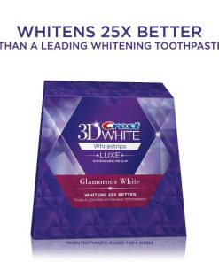 crest glamorous white teeth whitening strips