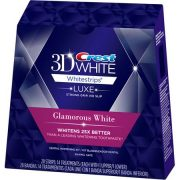 glamorous white whitening strips