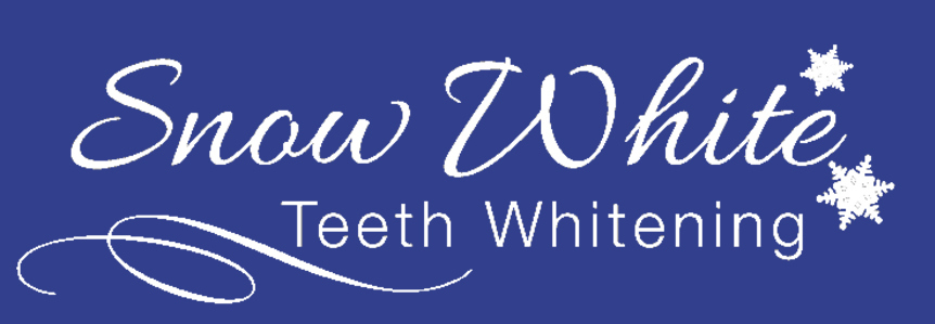 snow white teeth whitening logo